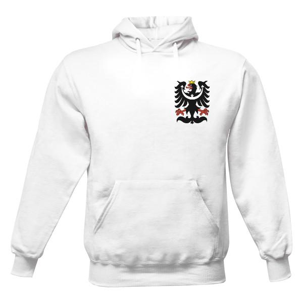 Pánská mikina s kapucí s potiskem Mikina se znakem Silesia Slezka ... df3c3177826
